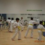 Abulla and Omar going through their Kata